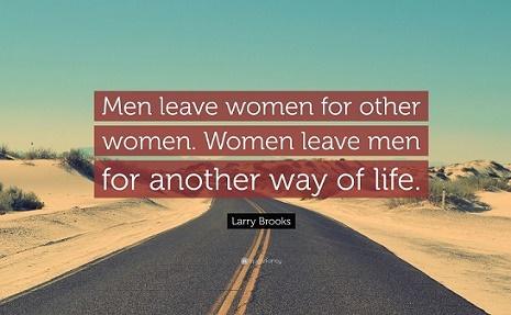 why men leave women