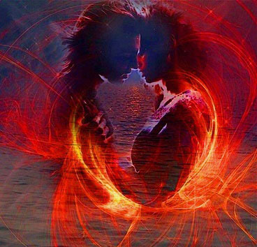 Twin flame soulmates
